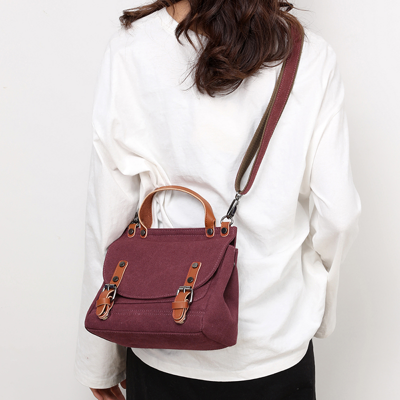 Image 5 - Crossbody Bags for Women 2019 Canvas Tote Bag womens Handbags Ladies cotton Hand Bag Bolsos Mujer Lady Shoulder BagTop-Handle Bags   -