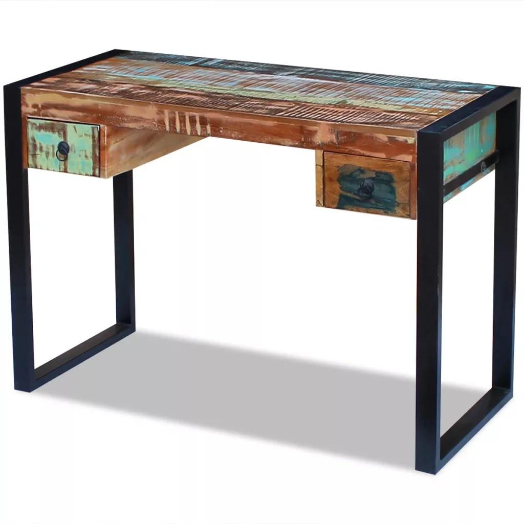 VidaXL Desk Solid Reclaimed Wood 243276