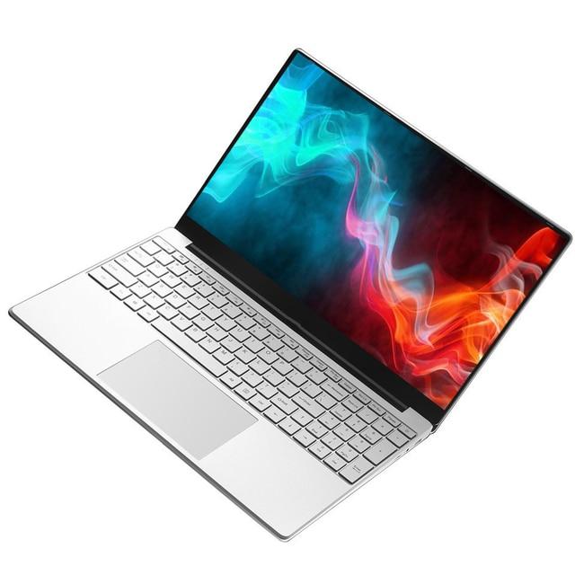 Intel Laptop 15.6 inch Windows 10 Pro 1920*1080 Cheap Portable Laptop Ram 12GB Rom 128GB SSD 500GB 1TB HDD HDMI Port Notebook 1