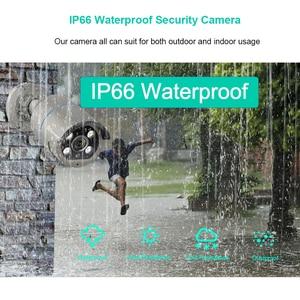 Image 4 - H.265 1080P 2MP 48V POE IP kamera iki yönlü ses IR açık su geçirmez P2P ONVIF CCTV güvenlik Video gözetim DC12V AI kamera