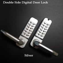 Long Handle Keyless Mechanical Digital Door Lock Password Keypad home Garden Yard Wooden Iron Gate lock Pushbutton