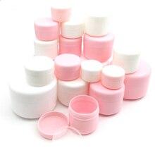 Pots rechargeables pour maquillage et cosmétiques, récipients vides rechargeables pour échantillons, bouteilles pour voyage, crème pour le visage, Lotion, 10g/20g/30g/50g, 100 pièces