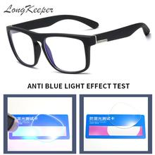 Glasses-Frame Gaming-Eyewear Computer Anti-Blue-Light Women Clear-Lens Square Classic