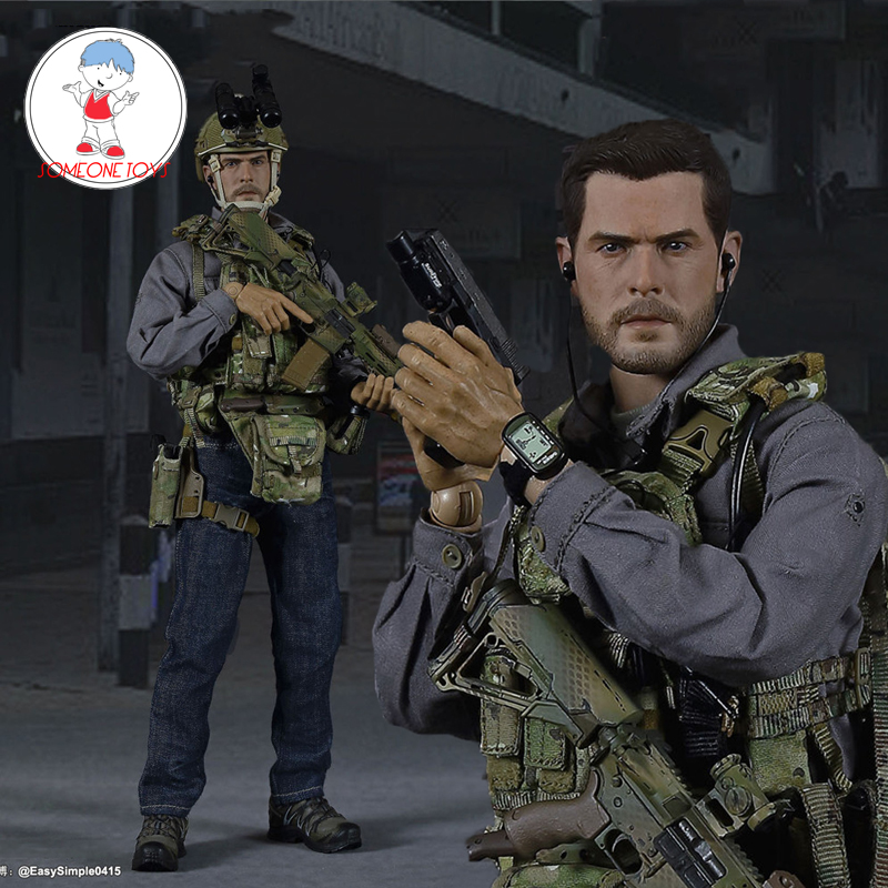 """EASY/&SIMPLE ES 1//6 26025 Scale Urban Sniper T-shirt For 12/"""" Male Action Figure"""