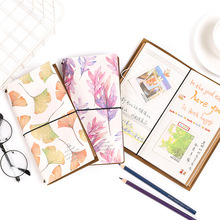 Travel Hand noteBook Simple Bandage Portable Multifunctional Notepad Exquisite Schedule Album Paper Accounting plan gift