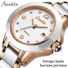 LIGE Brand Sunkta Women Watch 2020 Fashi