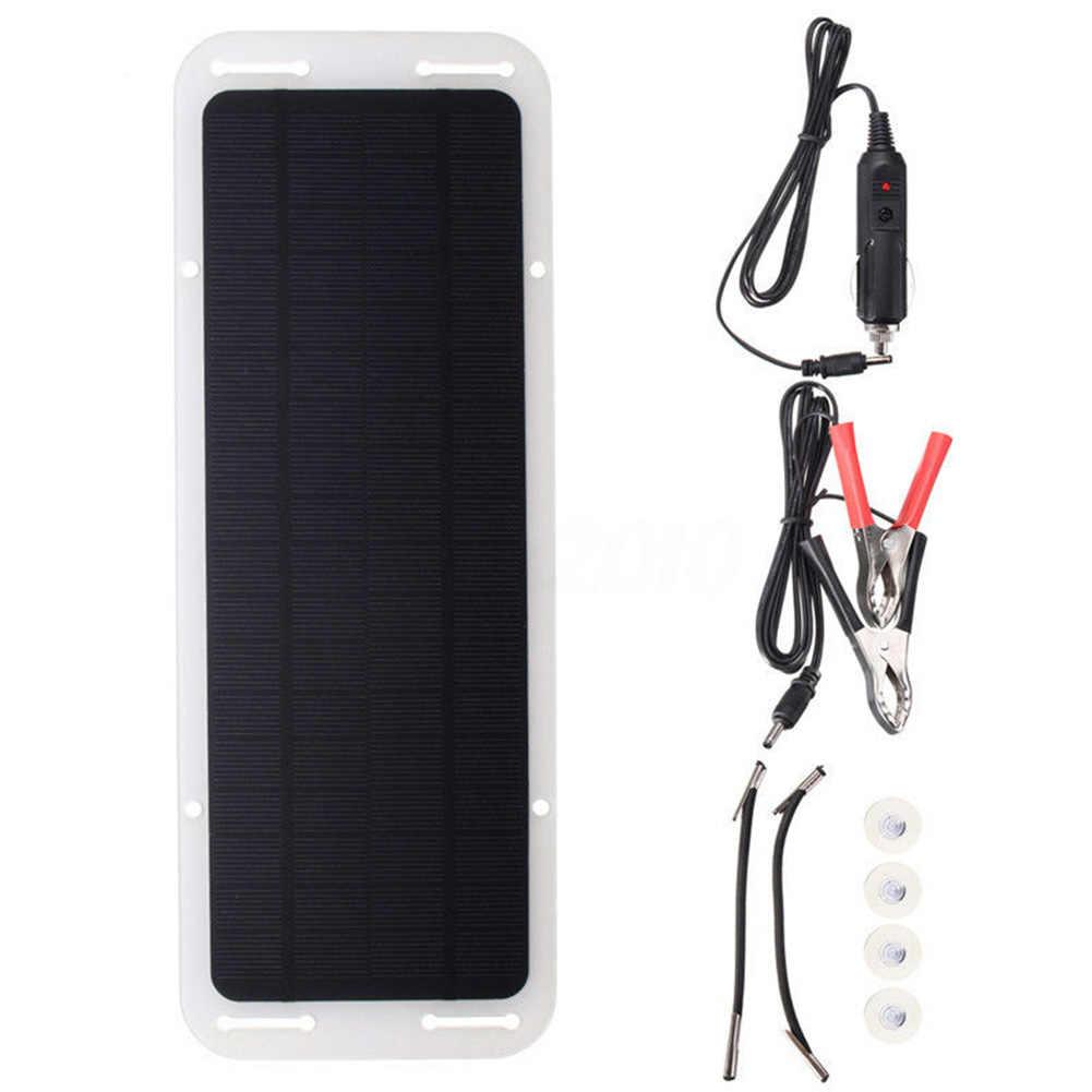 Chất Lượng Cao 18V 5W Chống Thấm Nước Năng Lượng Mặt Trời USB DC Monocrystalline Linh Hoạt Năng Lượng Mặt Trời Cho Xe Hơi Thuyền Xe Máy
