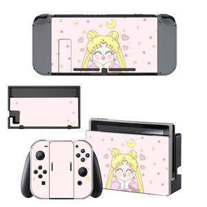 Image 1 - Anime Thủy Thủ Mặt Trăng Nintendo Switch Miếng Dán Da NintendoSwitch Dán Da Cho Nintend Công Tắc Tay Cầm Và Joy Con Bộ Điều Khiển