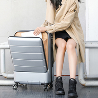 1820''24inch Rolling Luggage Travel Suitcase Case with Laptop Bag wheel Trolley luggage bag fashion carry on cabin suitcase box