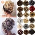 MEIFAN 2 шт. Для женщин бант для волос эластичная резинка пончик для волос шиньон,