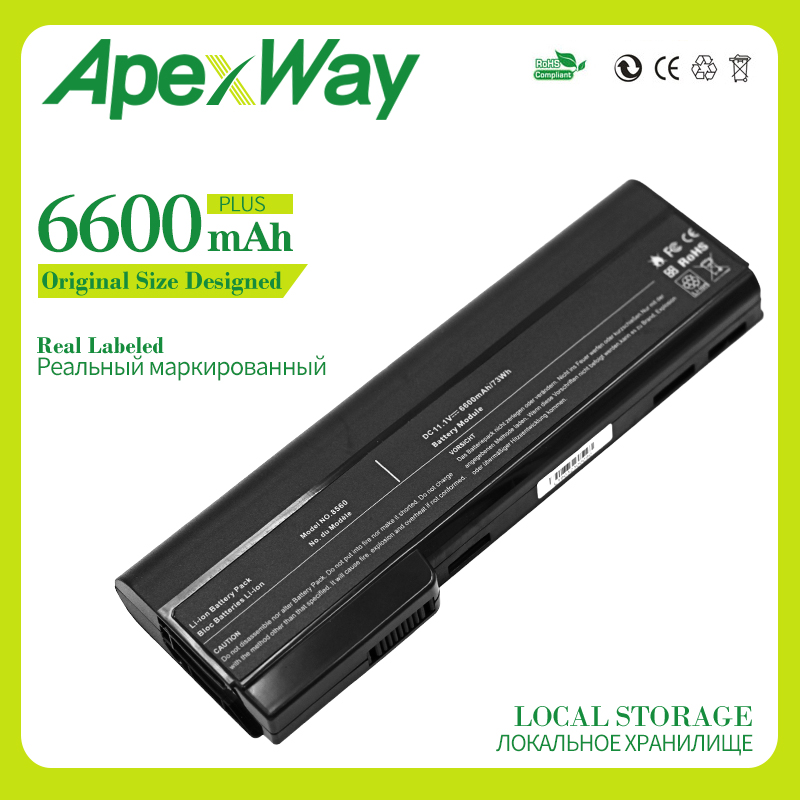 9 Cells laptop <font><b>battery</b></font> for HP EliteBook 8460 8470p 8470w 8560p <font><b>8570p</b></font> ProBook 6560b 6565b 6570b 6360b 6460b 6465b 6470b 6475b image