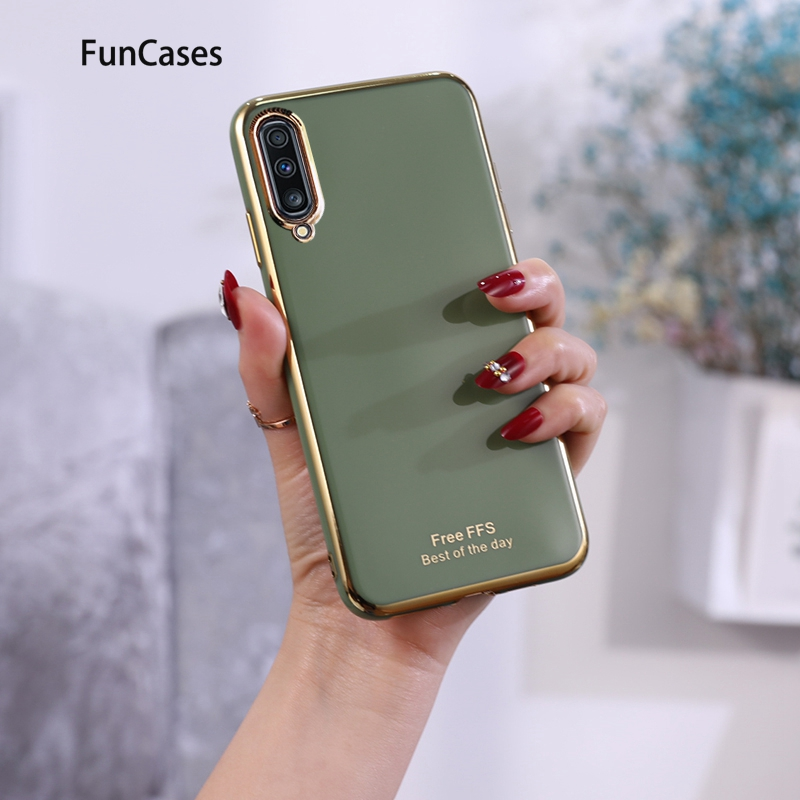 High Quality Half Wrappeds For capa Samsung A10 Cellular Soft TPU Shell Samsung Galaxy case M10 A70 A50 A51 A70S A71 A30S A50S image