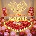 22cm dia dos namorados luz decorativa letras abs nome digital número luz saint valentin decoração lettre alfabeto casar comigo