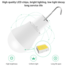 CanLing LED Solar Lamp 15W 250LM USB 5V Solar Power Light Portable Outdoor Camp Tent Fishing Bulb With Solar Panel Free Shipping