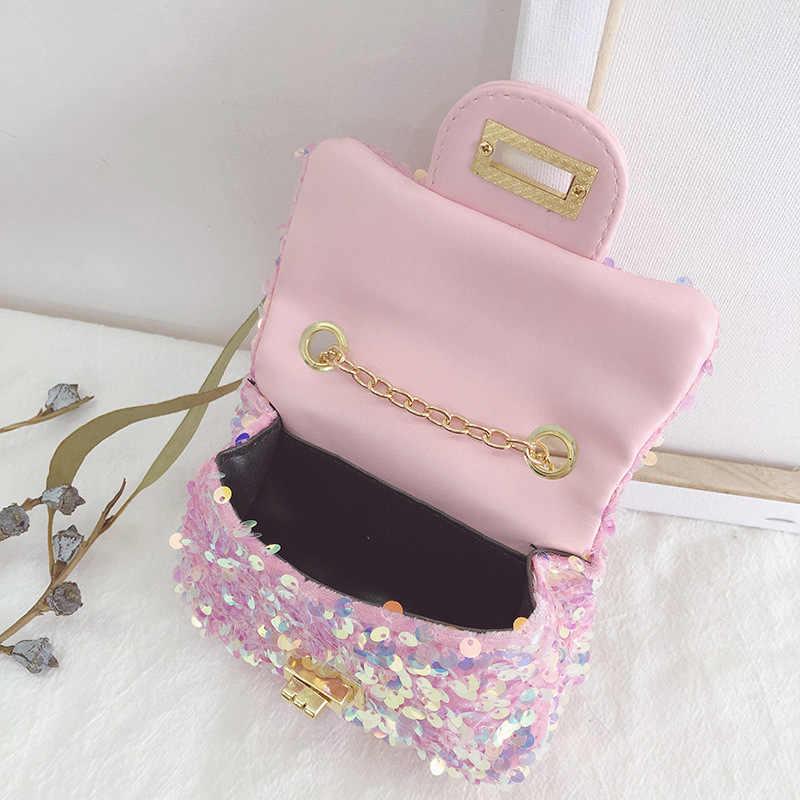 Girls Fancy Lace Coin Purse Star Dust Kids Mini Bag Glitter Tulle Money Bag CP