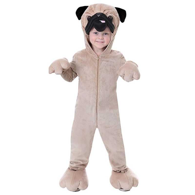 ニューキッズカーニバル服子供パグ犬マーシャルチェイススカイコスプレ衣装の少年少女ハロウィンパーティのロールプレイ大人のための