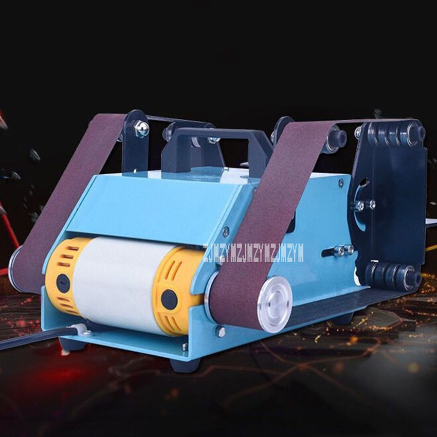 Desktop Double axis Belt Machine Electric Belt Sander Belt Polishing Grinder Household Belt Sanding Grinding Machine 220V 950W|Sanders| - AliExpress