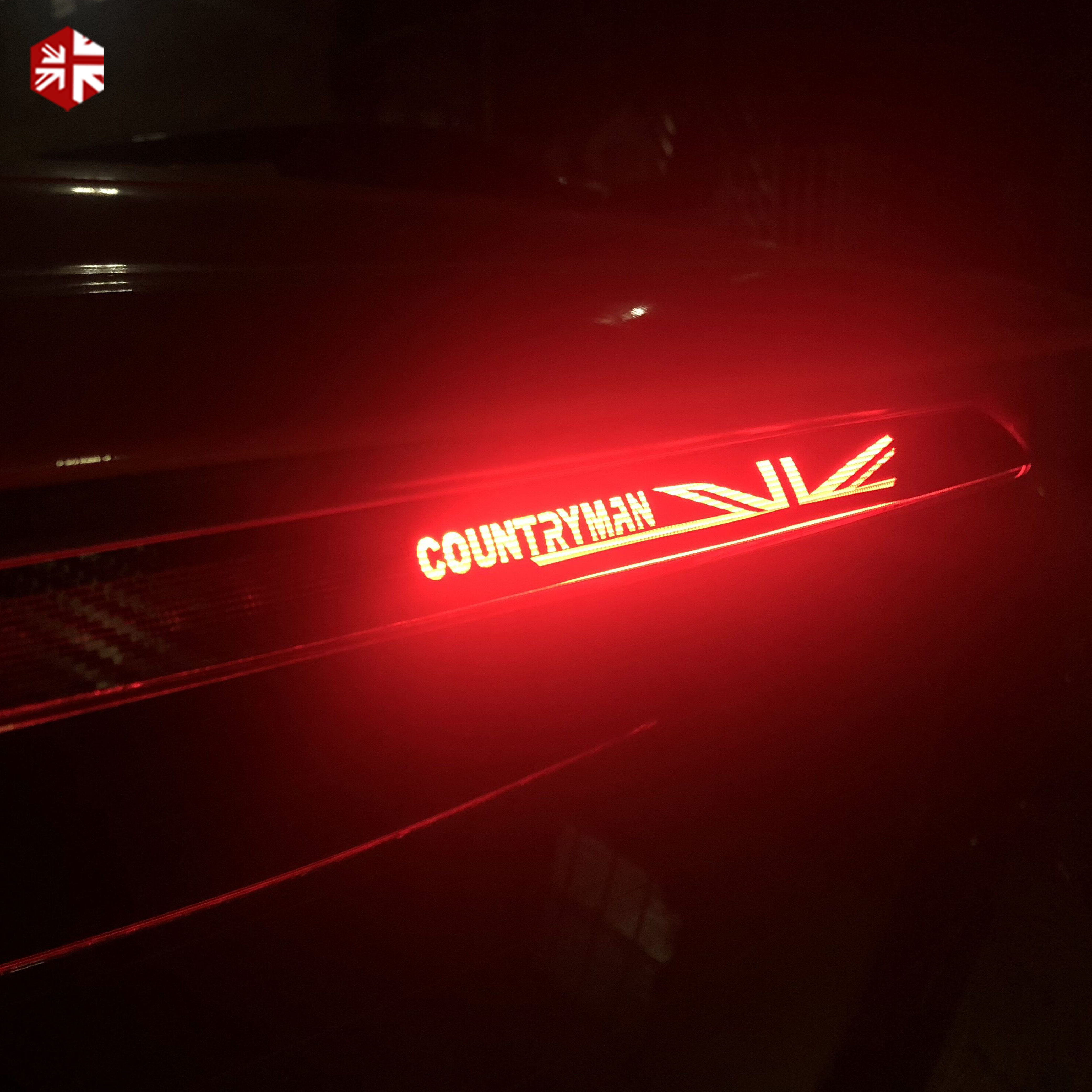 5D Carbon Fiber Vinyl High Mounted Stop Brake Lamp Light Stickers Decals For Mini Cooper R55 R56 R60 F54 F56 F60 Accessories