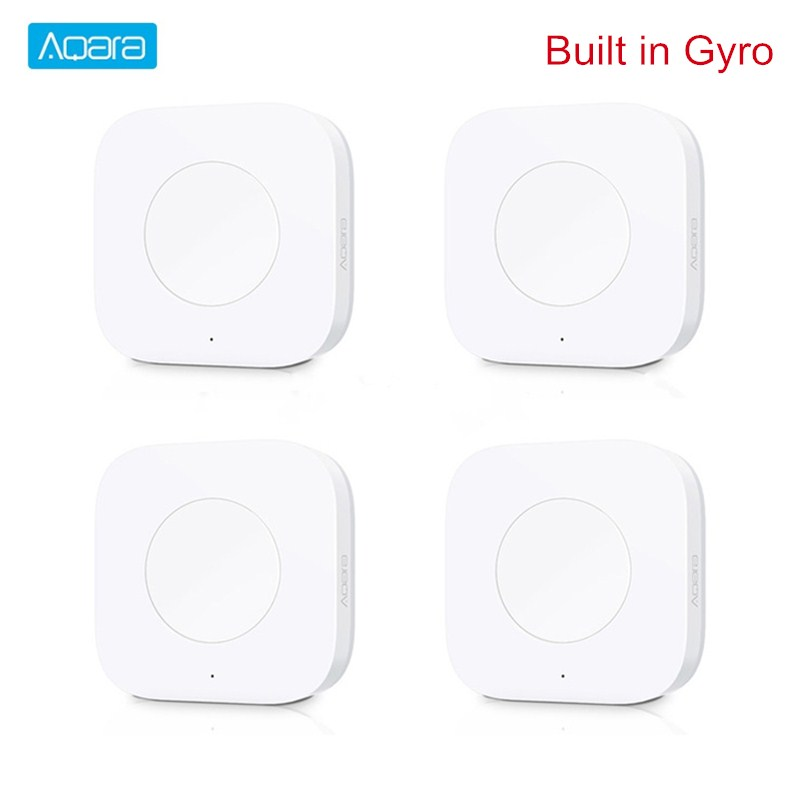 Aqara Smart Wireless Switch Key Built In Gyro Multi-Functional Intelligent Remote Control ZigBee Wifi Switch