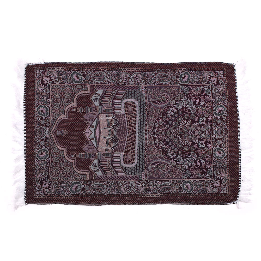 Image 5 - Muslim Prayer Rugs Velvet Thick Classic Islam Mat Multi Color Salat IslamicRug
