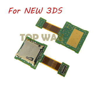ChengChengDianWan High Quality games repair replacement SD Card Slot for Nintendo for new 3DS 10pcs/lot