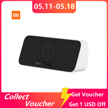 Xiaomi Bluetooth 5,0 динамик Быстрая Зарядка Qi Беспроводное зарядное устройство 30 Вт макс NFC двойной бас для iPhone 11 Xiaomi 9/10 Pro Samsung S10