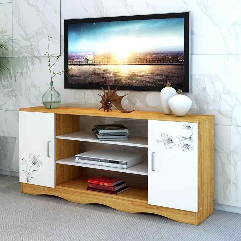 Tele Sehpasi وحدة دي الجدول شاشة مسطحة Soporte الفقرة الرجعية خشبية Meuble أثاث غرفة المعيشة حامل شاشة التلفزيون Mueble