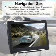 T600 7 Inch Truck Car Universal Navigator Navigation Gps Hig