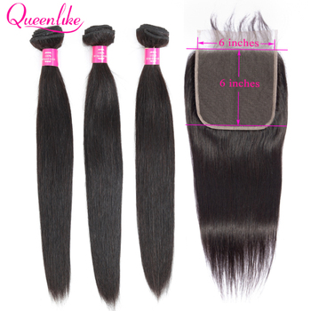 Queenlike 6*6 Lace Closure And