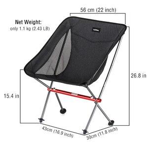 Image 5 - Naturehike Chair 경량 컴팩트 휴대용 야외 접이식 비치 의자 접이식 낚시 피크닉 의자 접이식 캠핑 의자