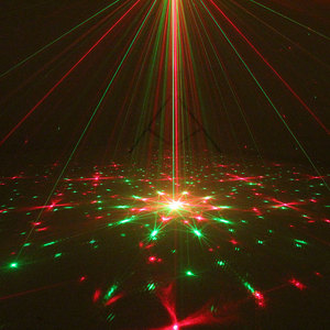 Image 3 - Doppel Farben Strobe Voice Control Laser Disco Party Lichter mit Grafiken Ausrüstung Dj Bühne Lumiere Soundlights