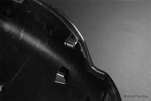 Real Crabon Fiber Mirror Cover Exchange original 1 pair for  KIA K3 without lamp  2014-2017 T251M 6