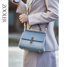 ZOOLER New Designed First layer Genuine Leather Bags Women Leather Handbags Fashion Luxury Shoulder Bag Ladies Tote Bags GH236 maihui women leather handbags high quality shoulder bags cowhide real genuine leather top handle bags 2018 new fashion tote bag
