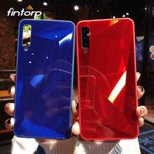 Case For Samsung Galaxy A50 A70 A30 A20 A10 A90 A80 3D Diamond Mirror for A7 2018 A8 A6 Plus M10 M20 M30 Cover