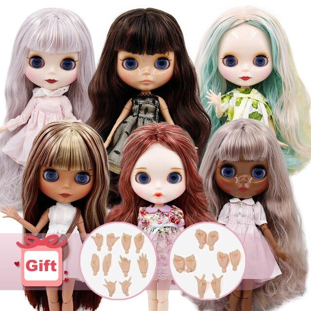 DBS BJD ICY Factory Muñeca Blythe desnuda, muñeca personalizada de 30cm, 1/6, con cuerpo articulado, juegos de mano, regalo para niña
