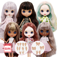 DBS BJD ICY Factory blyth doll nude 30cm Customized doll 1/6 doll with joint body hand sets AB as girl gift special price