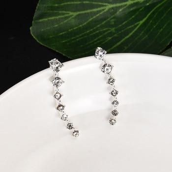 2020 NEW 1pair rhinestone ear cuff  Wrap earring gold piercing ears clips cartilage statement clip earring for women pendientes 3