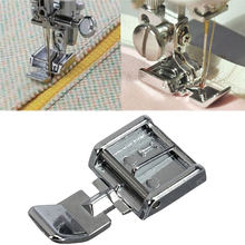 1PCS 2 Sides Metal Zipper Presser Foot Feet For Snap-on Sewing Machine Sewing Accessory