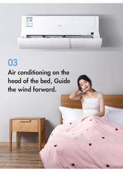 Air Conditioner Windshield Anti-Blowing Windproof Air Outlet Baffle Universal Childbirth Style Cool Air Slimming Fan Housing