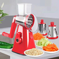 Manual Vegetable Cutter Slicer Kitchen Accessories Multifunctional Round Vegetable Cutter Round Slicer Potato Kitchen Gadgets