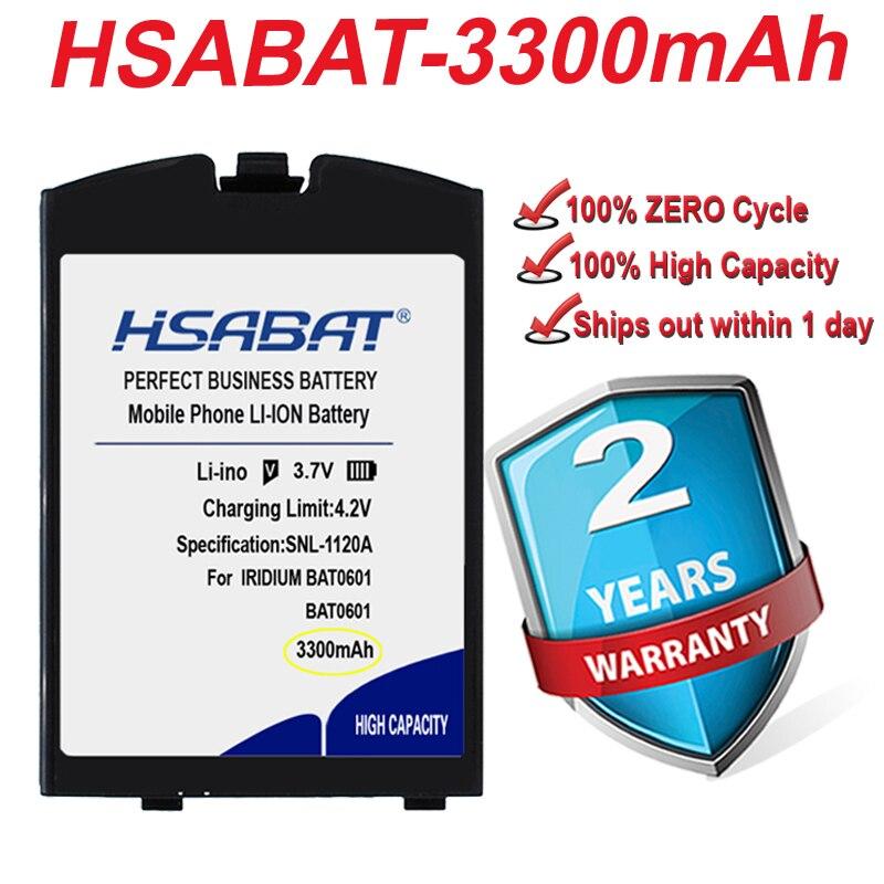 Top Brand 100% New 3300mAh Li-ion Satellite Phone Battery for IRIDIUM BAT0601 BAT0602 in stock(China)