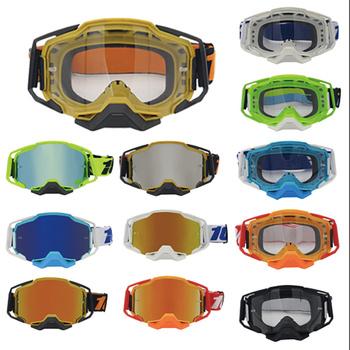 Nowe okulary na rower górski mężczyzna okulary gogle okulary okulary okulary Motocross damskie okulary gogle motocyklowe Motocross okulary tanie i dobre opinie CN (pochodzenie) Jeden rozmiar Mężczyźni Kobiety Unisex MULTI Jasne