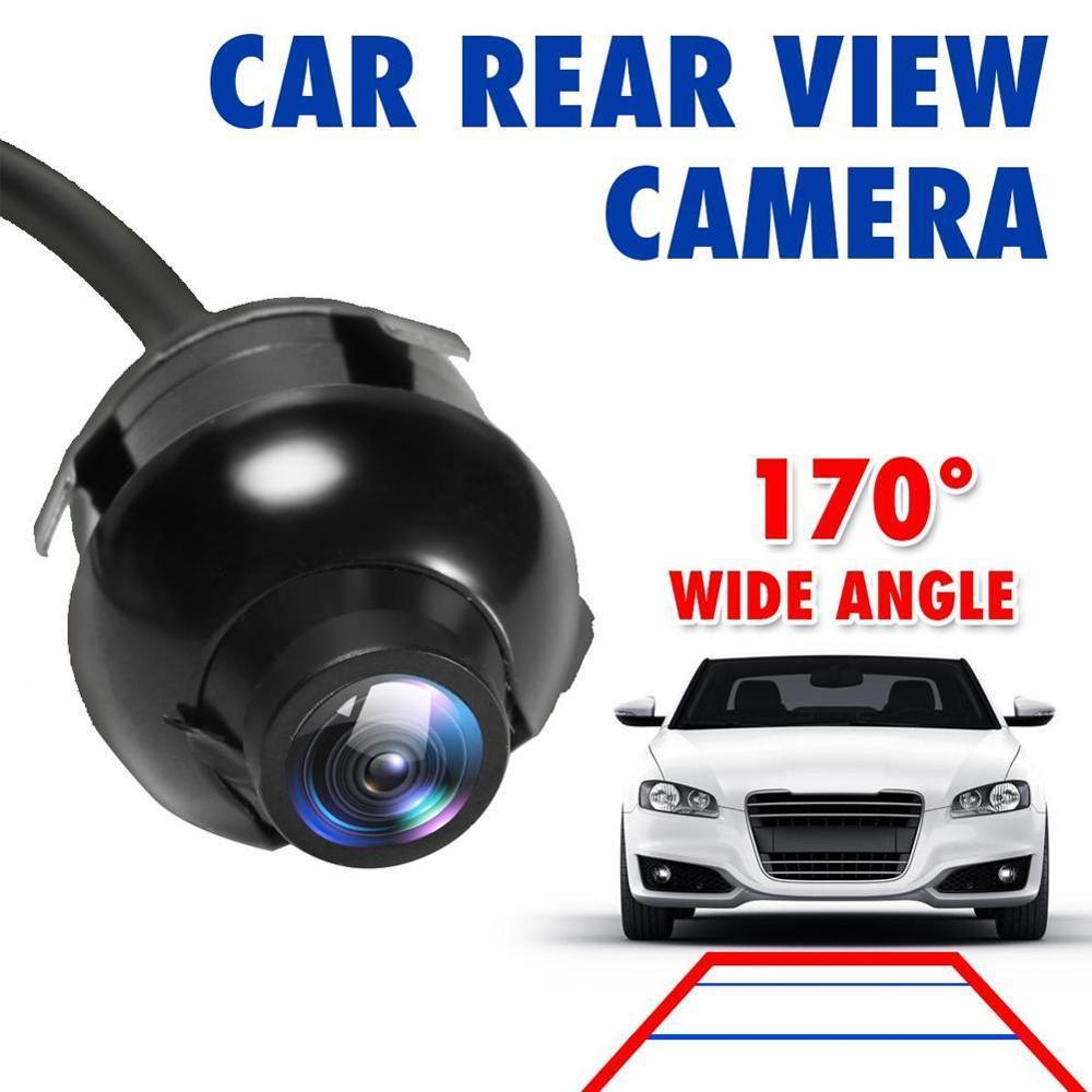 ИК-объектив CCD HD с ночным видением, 360 градусов, для камеры заднего вида, фронтальная камера, вид спереди, вид сбоку, реверсивная резервная кам...