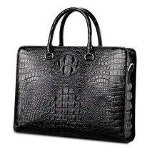 yinshang новый крокодил женщин сумки бизнес отдых сечение большой емкости портативный ноутбук Сумка мужская сумка