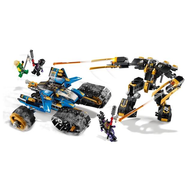 2020 Ninjagoes la jungle raider or Mech tonnerre Raider figurines modèle blocs de construction compatibles avec ninja cadeau jouets