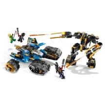 2020 Ninjagoes the jungle raider Golden Mech Thunder Raider Figures Model Building Blocks Compatible with ninja Gift Toys