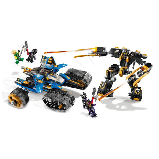 2020 ninjagoesジャングルレイダー黄金のメカ雷レイダーフィギュアモデルと互換忍者ギフトおもちゃ