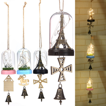 LED Wind Chimes Bell Night Light Beautiful Home Decoration Birthday Gift Children's Day Valentine'S Day Gift Home Decoration D40