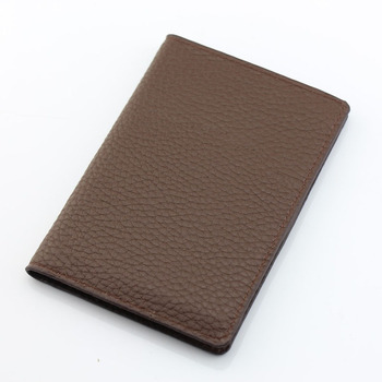 25PCS / LOT  Pure color Lichee Pattern Classic Passport Cover PU Leather Passport Card Holder