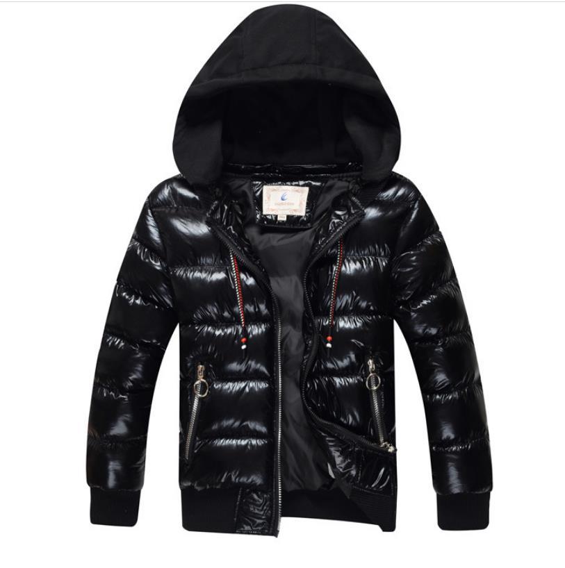 Зимняя куртка для мальчиков с хлопковой подкладкой, детская зимняя куртка с капюшоном, утепленная куртка для мальчиков, Детская верхняя одежда, пальто для подростков|Пуховики и парки|   | АлиЭкспресс